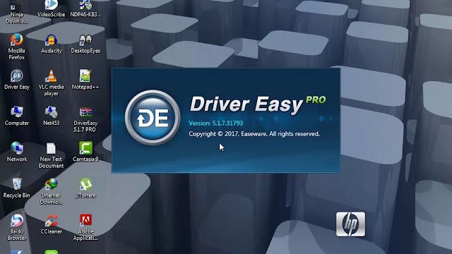 تحميل برنامج drivereasy 2017  لجلب تعريفات الكمبيوتر واللاب توب