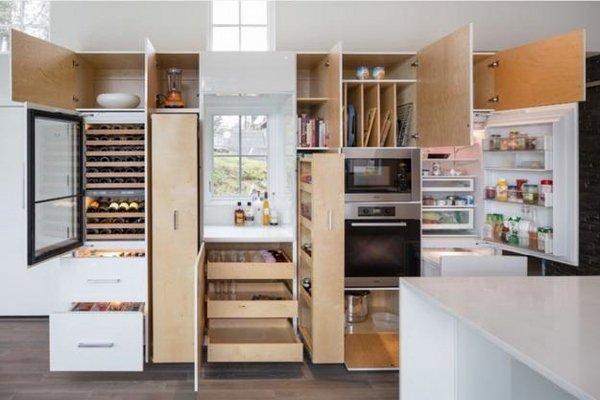 Modern Kitchen Cabinets Storage Organization Systems
