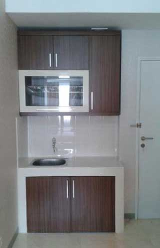 kitchen set simpel minimalis