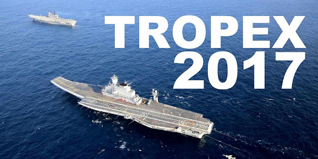NEWS | Indian Navy's Theatre Level Exercise, TROPEX 17, Kicks Off