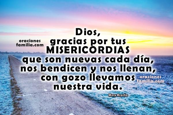 Bonita oración de protección en el nuevo dia, oraciones de la mañana con imágenes cristianas, frases en oración por Mery Bracho,