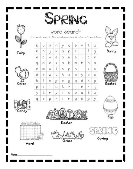 What the Teacher Wants!: I need a little spring...