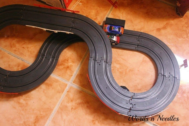 electromagnetic race track