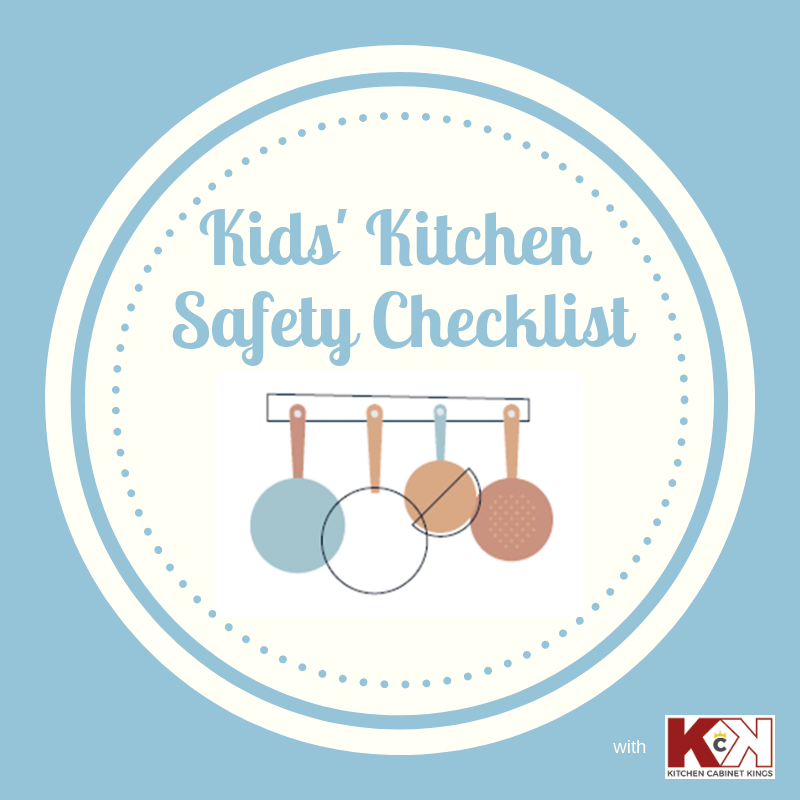 Kitchen Safety For Kids Worksheets: Kid-friendly Kitchen Safety Checklist (free Printable