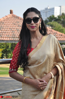 Angana Roy in Silk Saree at Teaching Tree Carnival .xyz 027.JPG