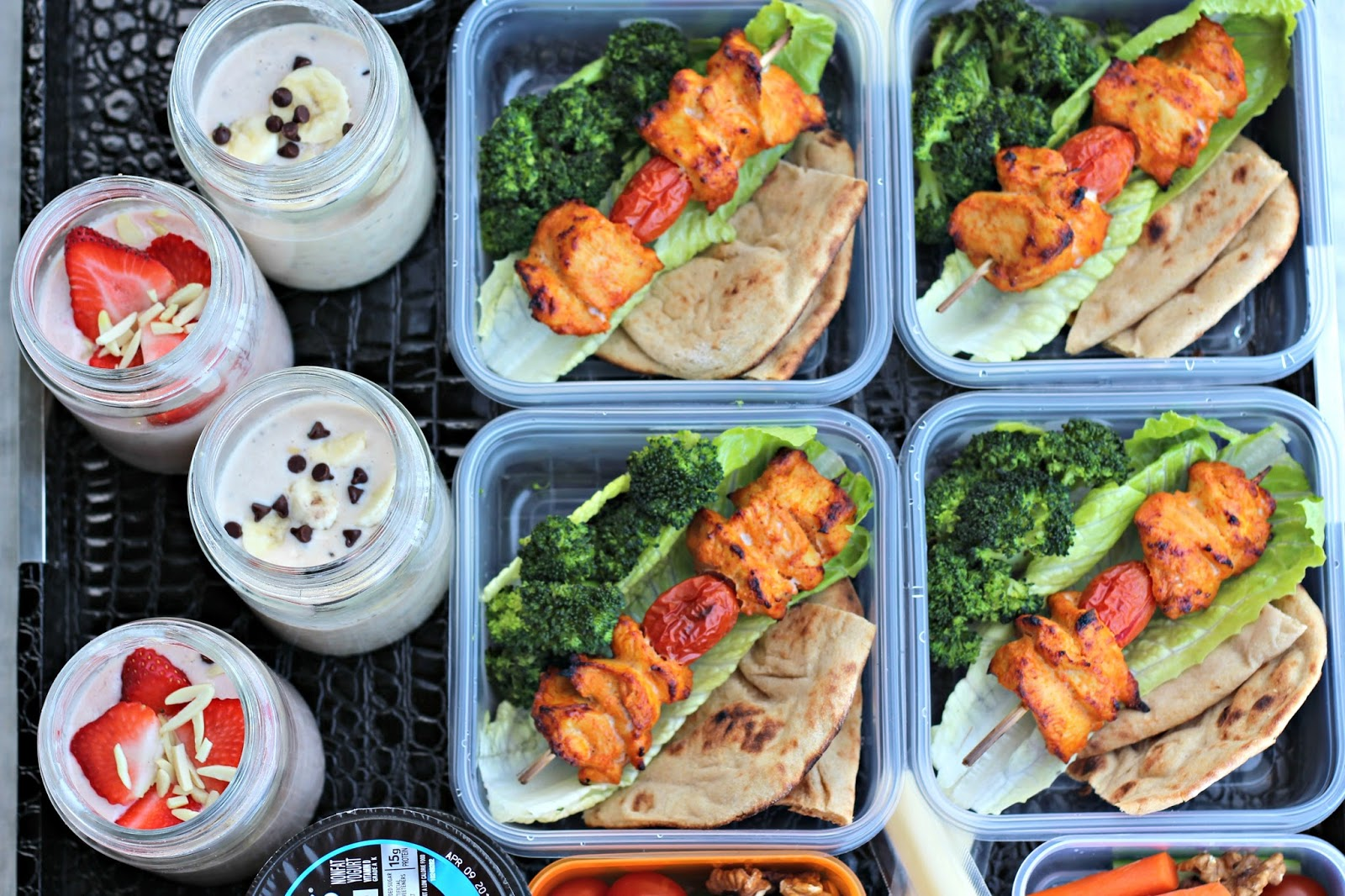 high protein diet meal prep week 1 | best of wardah