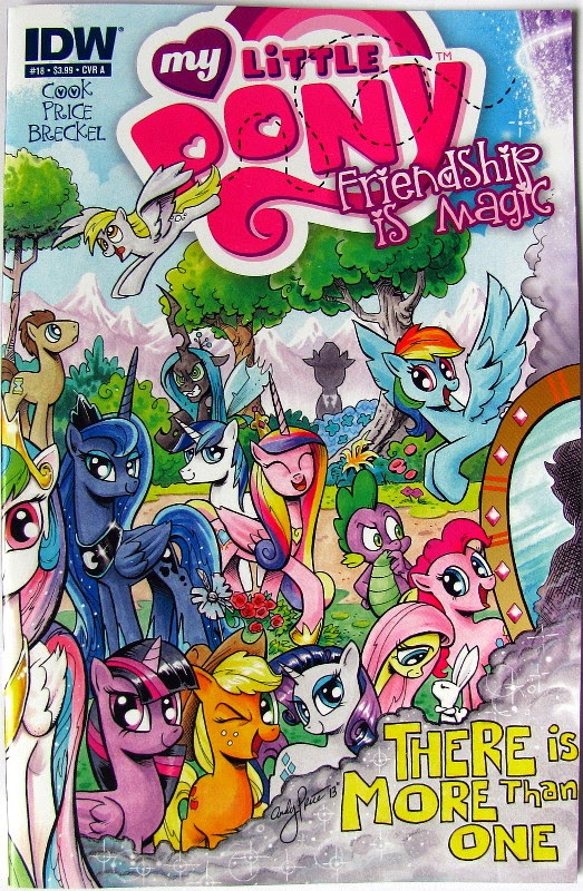 IDW MLP comic issue 18, cover A