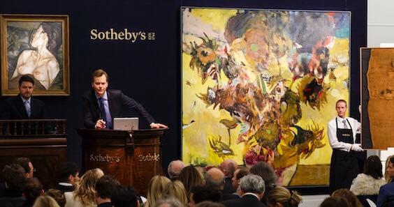 Adrian Ghenie -lucrare adjudecata cu 4 milioane de euro