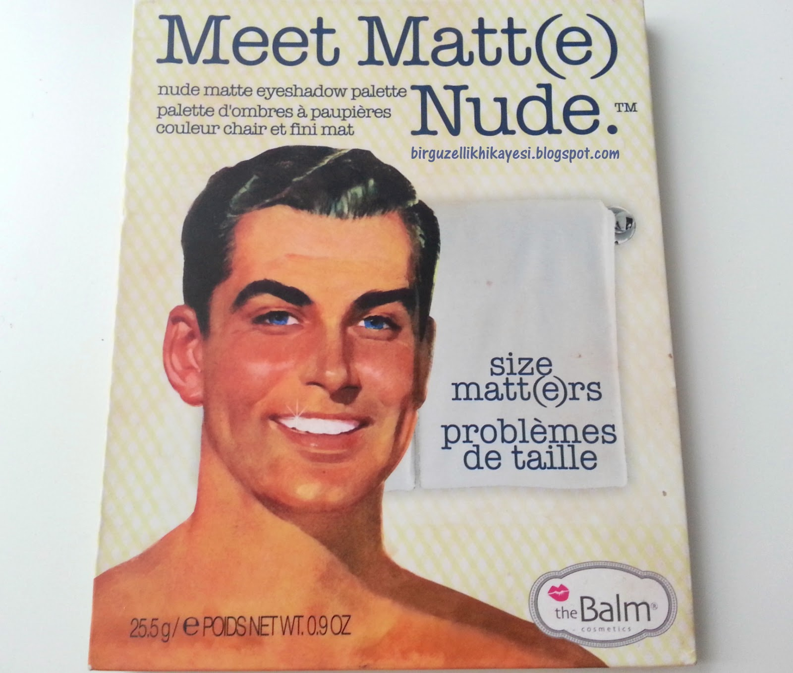the balm meet matte far
