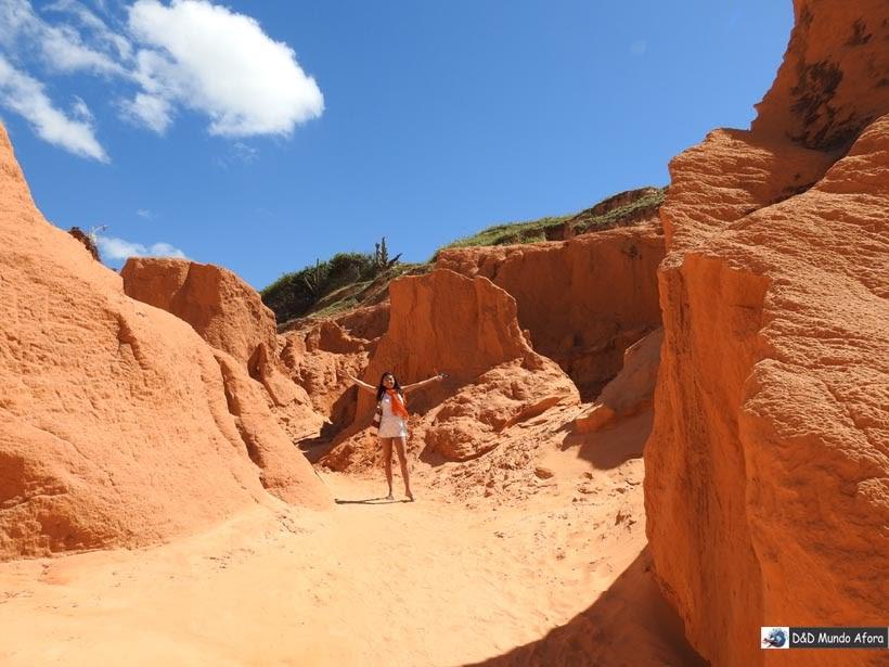 Diário de Bordo - Falésias de Morro Branco, Ceará