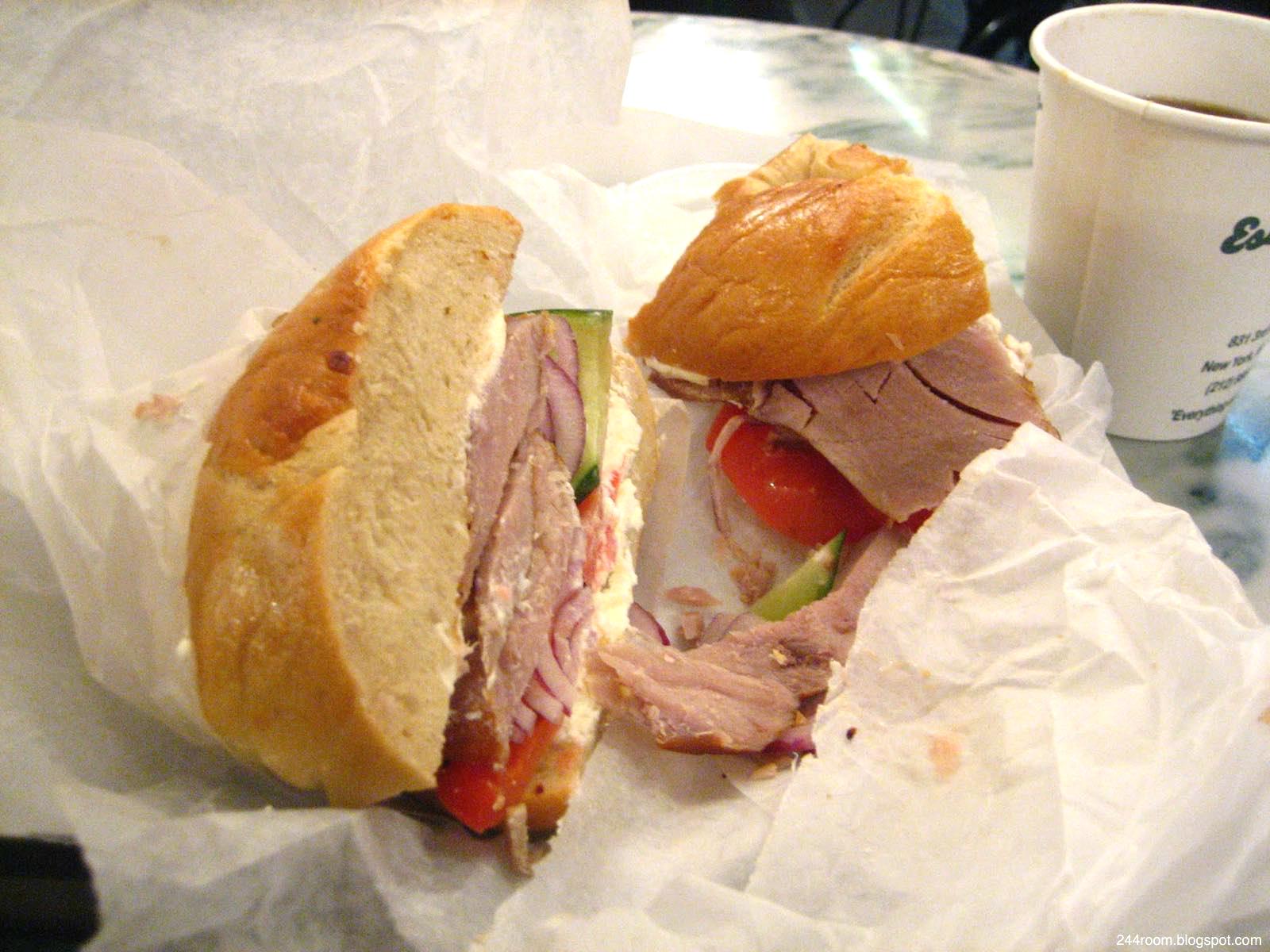 ベーグルサンド Bagel sandwich2