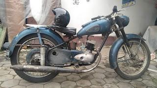 Dijual Koleksi Motor Jadoel DKW Union 125cc th 1956
