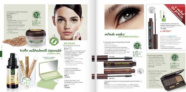 Andrea IU belleza integral  : colección de productos de belleza