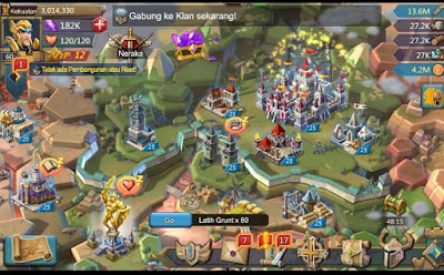 Lords Mobile Mod Apk Data android Terbaru