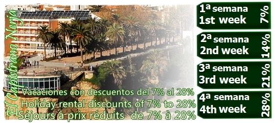 Vacaciones en El Capistrano Nerja con descuentos de hasta el 28%