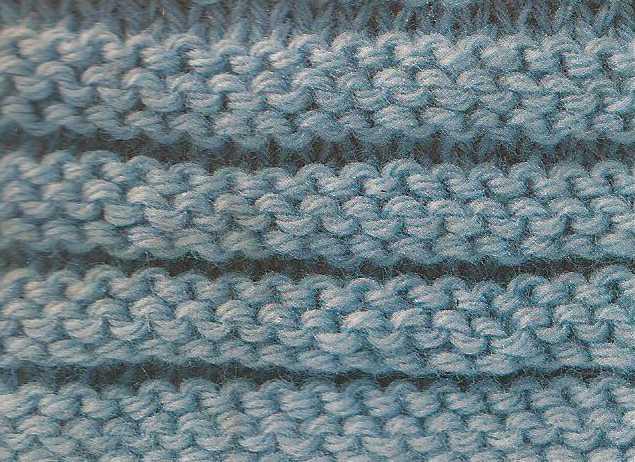 Patrón #1874: Como tejer punto acanalado en dos agujas.