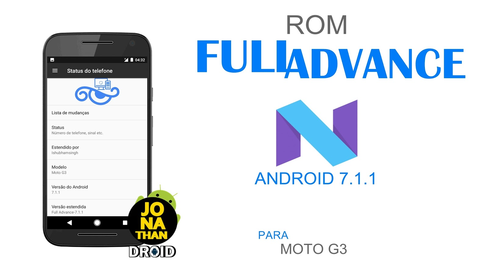 ROM - Full Advance - Android 7 1 1 Nougat - Osprey