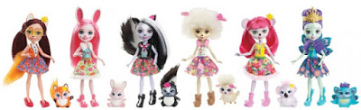 Куклы Энчантималс 2017 Enchantimals Mattel Dolls