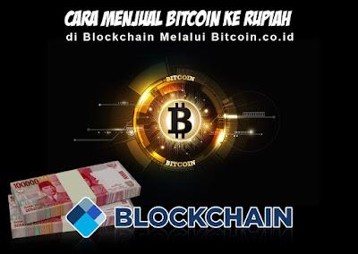 Cara Menjual Bitcoin ke Rupiah di Blockchain Melalui Bitcoin.co.id