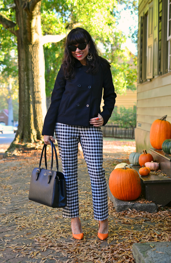 Plaid Pants Outfit
