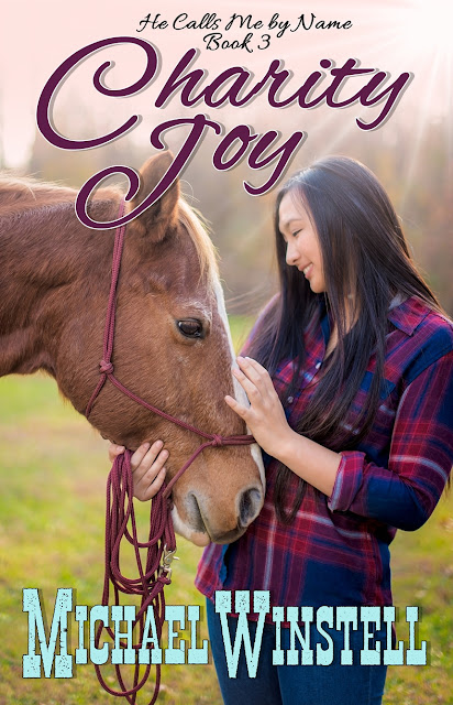 Charity Joy, Chloe Go, He Calls Me by Name, girl, horse, book, book cover, Jenny V Photography