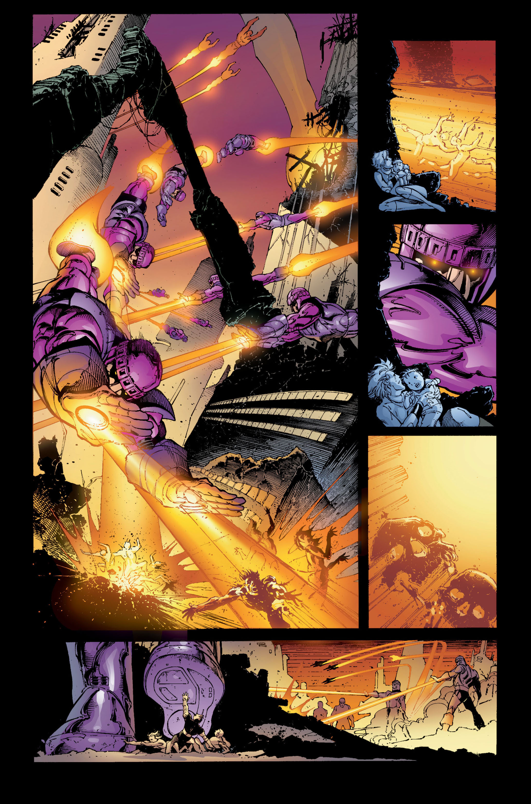 Read online Ultimate X-Men comic -  Issue #5 - 17