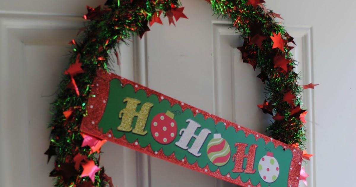 Make A Christmas Tree With Ribbon