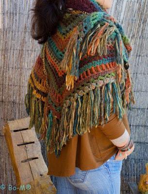 Gypsy Crochet Shawl