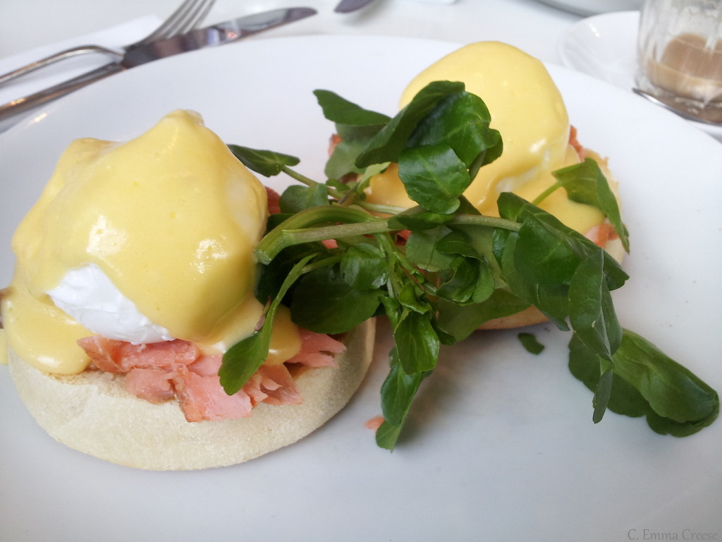 New Zealand Eggs Benedict Adventures of a London Kiwi