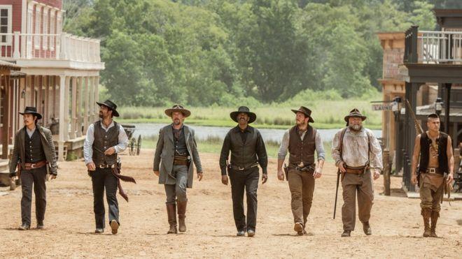 Magnificent Seven tops US box office