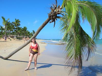 Palmera tirada por el huracán, Punta Cana, vuelta al mundo, round the world, mundoporlibre.com