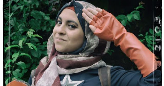 Hijab Wearing Cosplayer Proves She's Worthy of Cap's Shield