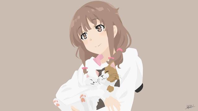 Azusagawa Kaede - Seishun Buta Yarou wa Bunny Girl Senpai no Yume wo Minai Wallpaper