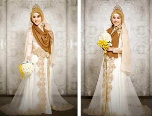 model baju pengantin muslim 2017