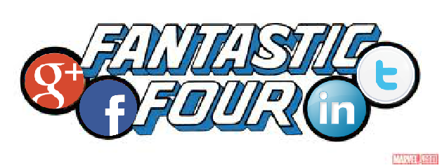 social media fantastic four