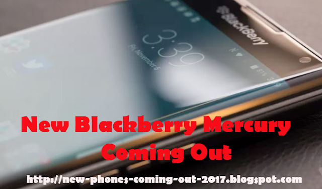 New Blackberry Argon / Mercury Coming Out