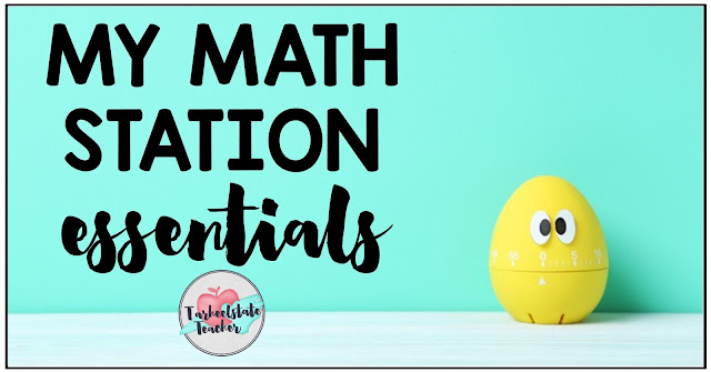 Thinking about implementing math station rotations or centers this year? Learn all about management and organizational tools I can't live without for my 4th grade and 5th grade math stations. I even show you how I set up my small groups and math station assignments. {3rd grade and 6th grade teachers, this works for you too!}