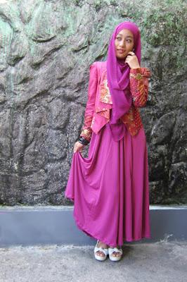 model hijab n caranya outerwear manis