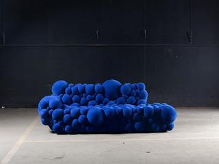 Diseño de sillón extraño