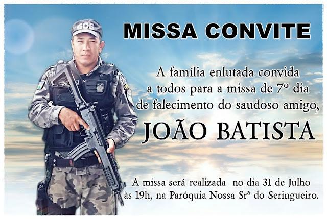 Missa de Sétimo Dia de J. Batista