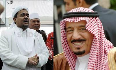 Kisah Raja Salman dan Habib Rizieq yang Tak Terungkap