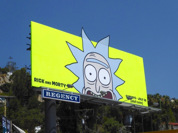Rick Morty season 3 billboard
