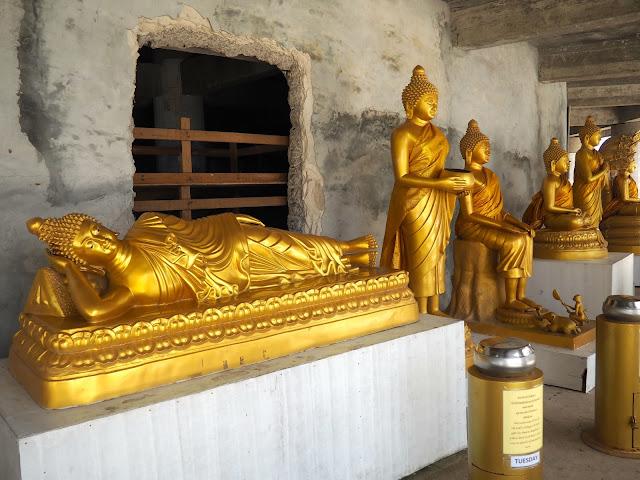 Buddha statues at Big Buddha, Phuket, Thailand
