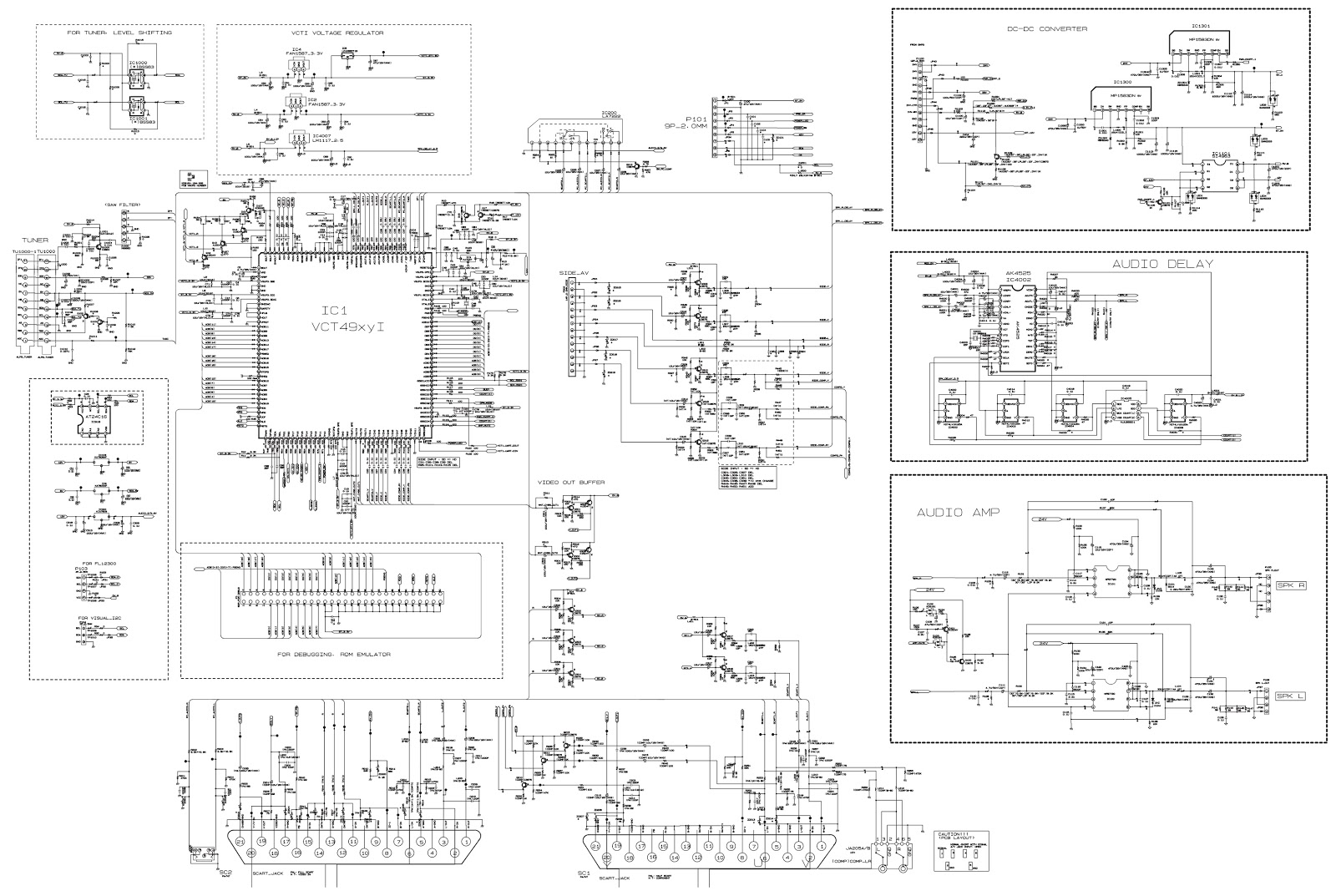 Vizio Tv Wiring Schematic   Wiring Diagram