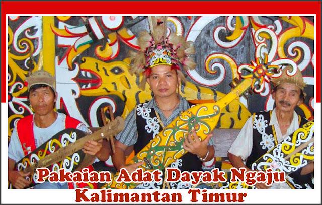 Gambar Pakaian Adat Dayak Ngaju Kalimantan Timur