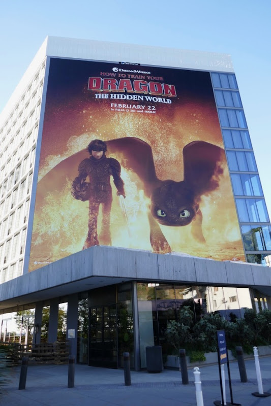 How to Train Your Dragon 3 billboard