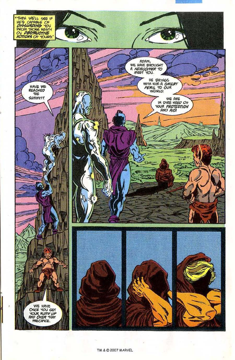 Read online Silver Surfer (1987) comic -  Issue #46 - 21