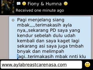 ayla breast care testimoni