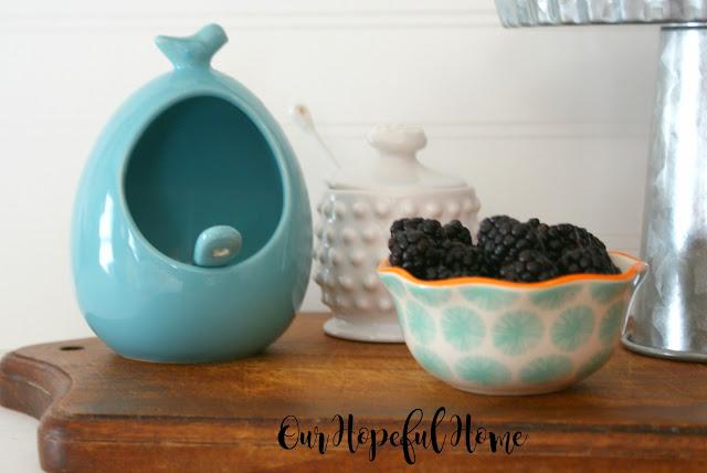 salt cellar fruit bowl honey jar