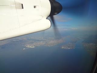 ボンバルディア DHC8-Q400の離陸